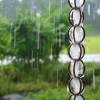 Rain Chain during rainy day