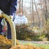 Home septic system being maintained by plumber/septician