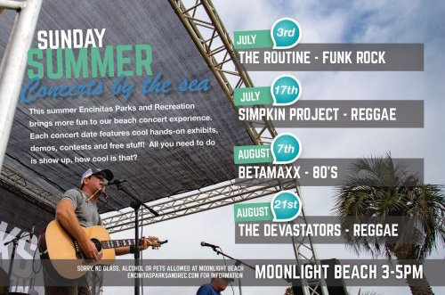 Summer Concerts by the Sea 2016 Encinitas
